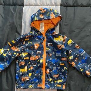 Baby boys thin construction jacket